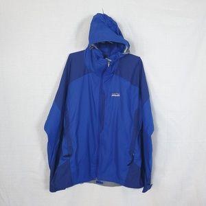 Patagonia Mens Windbreaker Hooded Jacket